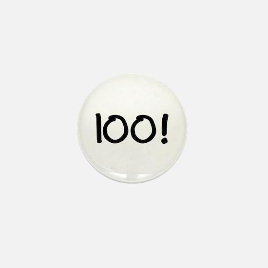 100! Mini Button