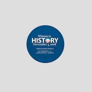 """Witness History 08"" Mini Button"