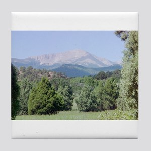 Pikes Peak Tile Coaster