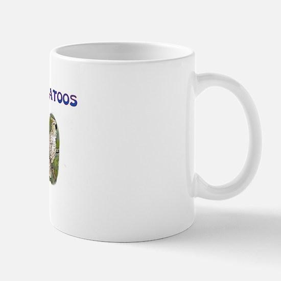 Peace Love Cockatoos Mug