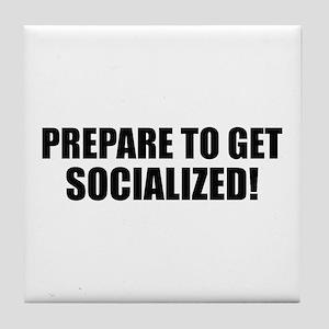 Obama Socialism Tile Coaster