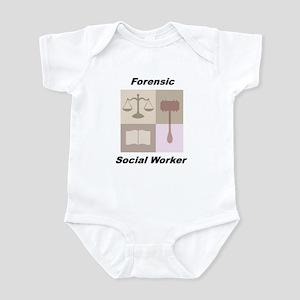 Forensic Social Worker Infant Bodysuit