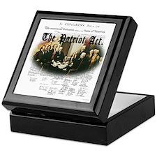 Patriot Act Keepsake Box