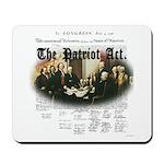 Patriot Act Mousepad