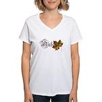 Mabon Autumn Women's V-Neck T-Shirt
