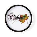 Mabon Autumn Wall Clock