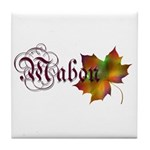 Mabon Autumn Tile Coaster
