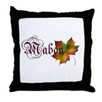 Mabon Autumn Throw Pillow