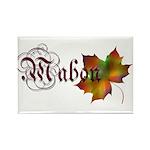 Mabon Autumn Rectangle Magnet (10 pack)