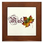 Mabon Autumn Framed Tile
