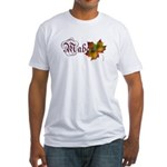 Mabon Autumn Fitted T-Shirt