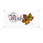 Mabon Autumn Banner
