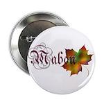 """Mabon Autumn 2.25"""" Button (10 pack)"""
