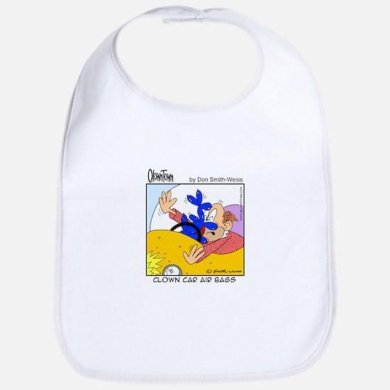Clown car air bags Bib