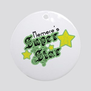 Memere's Super Star Ornament (Round)