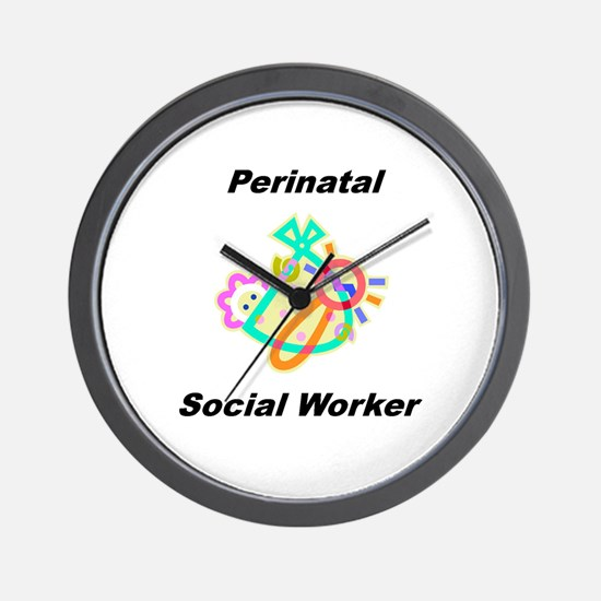 Perinatal Social Worker Wall Clock