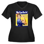 Sarah Palin We Can Do It Women's Plus Size V-Neck