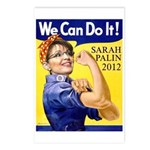 Sarah Palin We Can Do It Postcards (Package of 8)