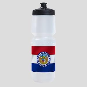 Missouri State Flag Sports Bottle
