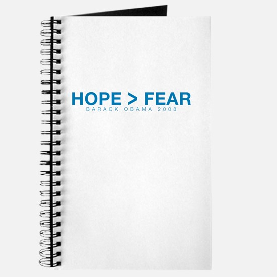 """Hope Over Fear"" Journal"