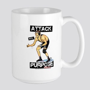Wrestle Attack Large Mug