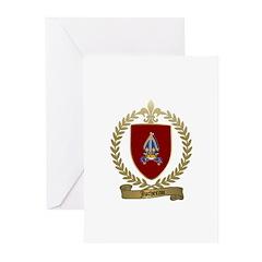 JUCHEREAU Family Greeting Cards (Pk of 10)