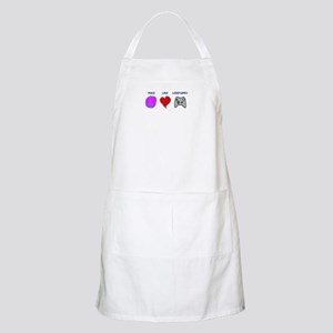 Peace love video games BBQ Apron