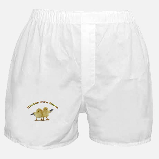 Chick Wi' Guns Boxer Shorts