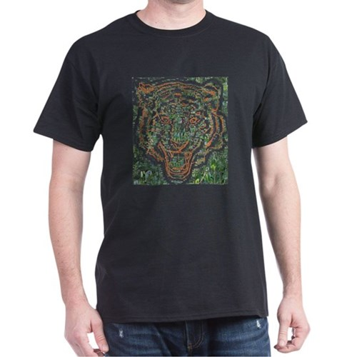 animal wild front face head asian asia tig T-Shirt