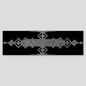 Brotherhood concept. Bumper Sticker