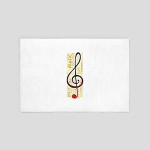 musical instrument music musician hips 4' x 6' Rug
