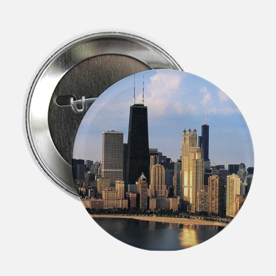 """Chicago from Lake Shore Drive 2.25"""" Button"""