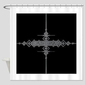 Brotherhood concept. Shower Curtain