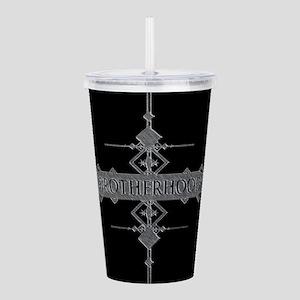 Brotherhood concept. Acrylic Double-wall Tumbler
