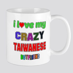 I Love My Crazy Tobagonian Boyf 11 oz Ceramic Mug