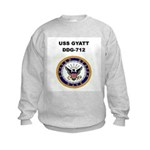 USS GYATT Kids Sweatshirt