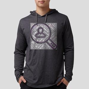 icon futuro plain monochrome s Long Sleeve T-Shirt