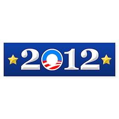 Re-Elect Obama 2012 Bumper Sticker