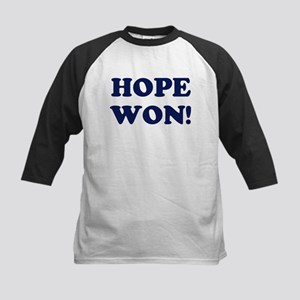 Hope Won (simple) Kids Baseball Jersey