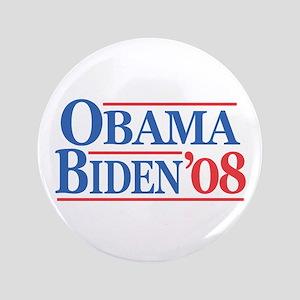 """Obama Biden 08 3.5"""" Button"""