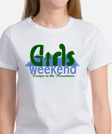 Mountain Girls Weekend Women's T-Shirt