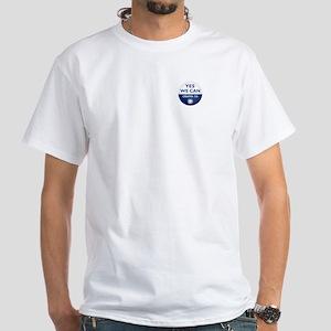 Yes We Can Speech Barack Obama White T-Shirt