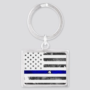 Blue Lives Matter - Police Gifts - Thin Keychains