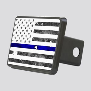 Blue Lives Matter - Police Rectangular Hitch Cover