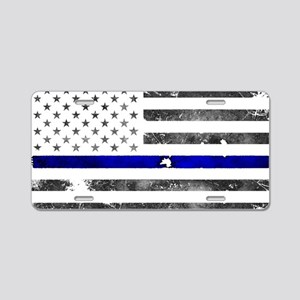 Blue Lives Matter - Police Aluminum License Plate