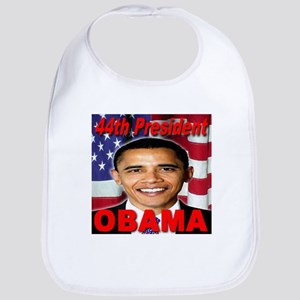 44th President Obama USA Flag Edition Bib