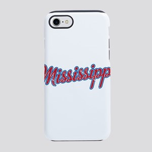Mississippi-01 Vintage iPhone 8/7 Tough Case