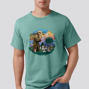 St Francis #2/ Shih Tzus (4) T-Shirt