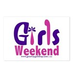 Girls Weekend in the Pink Postcards (Package of 8)