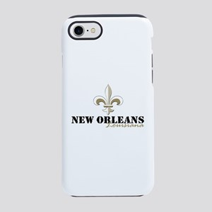 New Orleans Louisiana gold iPhone 8/7 Tough Case
